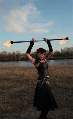 Prairie Fire Girl
