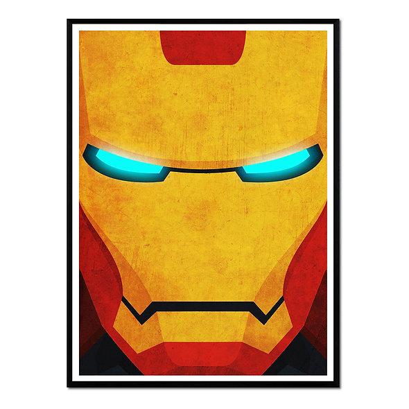 Iron Man Primer Plano