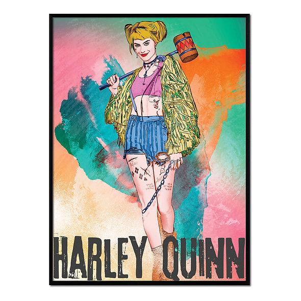 Harley Quinn Multicolor