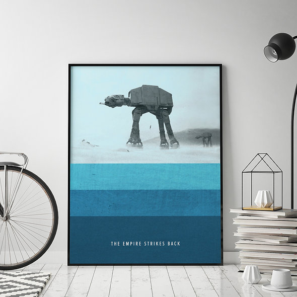 The Empire Strikes Back Azulado