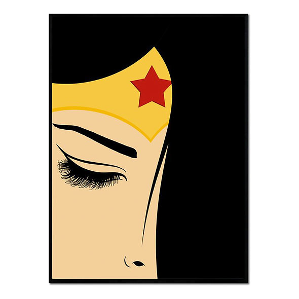 Wonder Woman Primer Plano