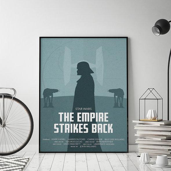 The Empire Strikes Back Azul