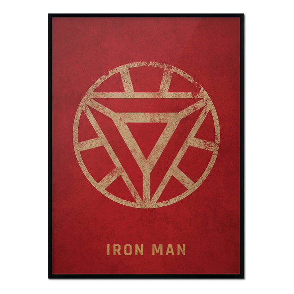 Símbolo Iron Man