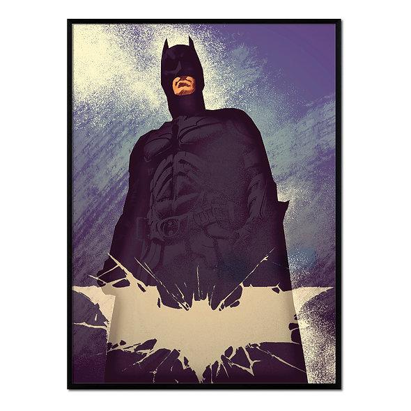Retrato Batman