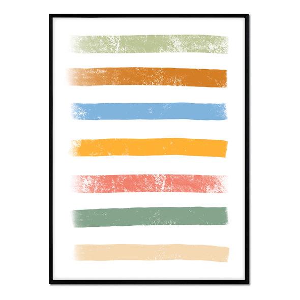 Líneas Multicolor