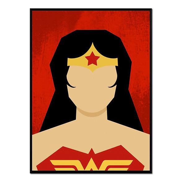 Retrato Wonder Woman
