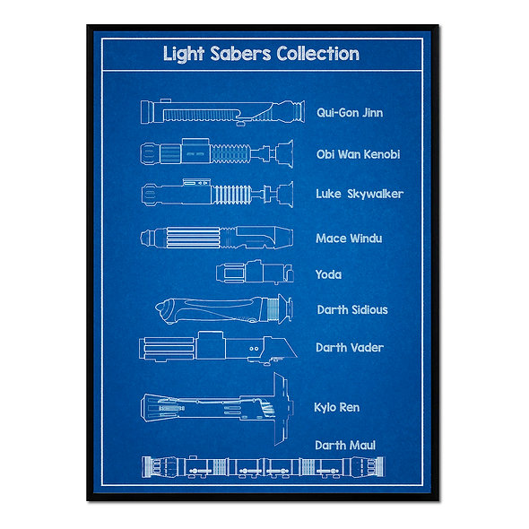Light Sabers Collection