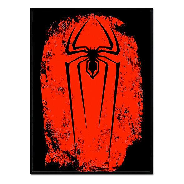 Araña Rojo y Negro