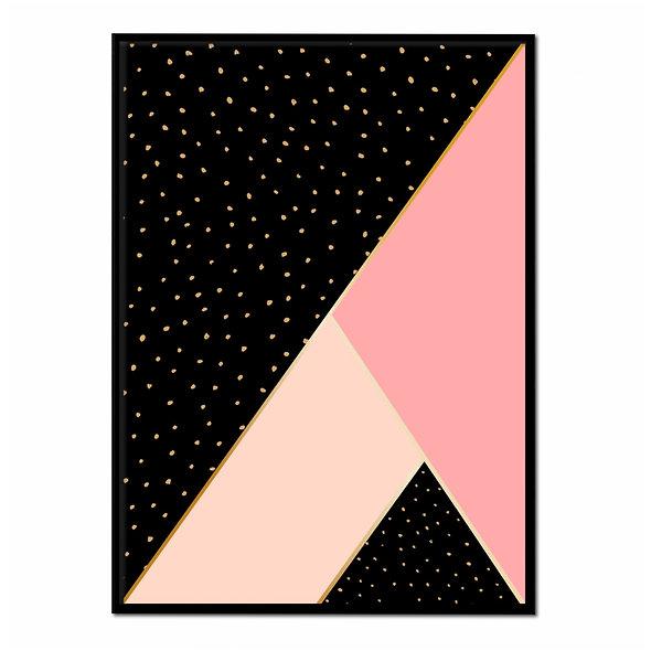 Geometría Rosa y Negra