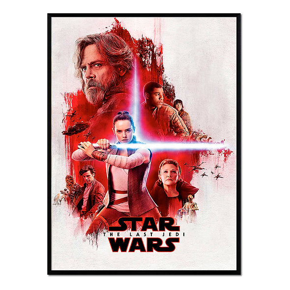 Cartel Rojo Star Wars