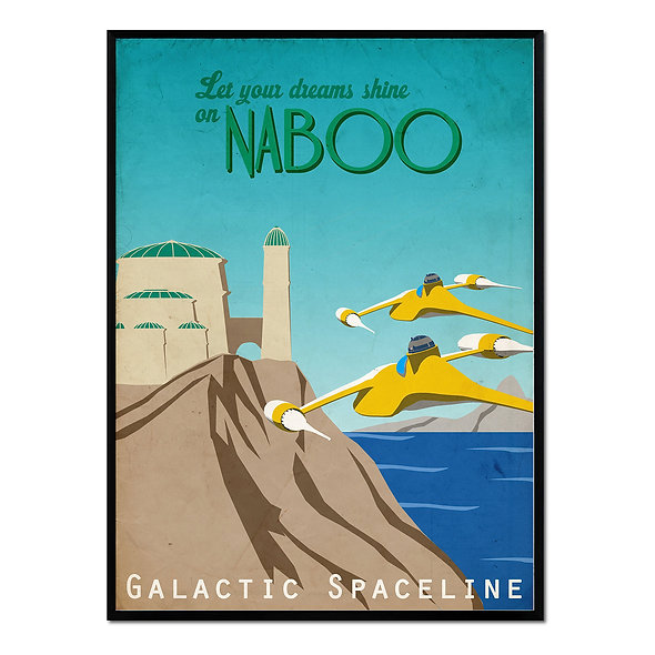 Let Your Dreams Shine on Naboo