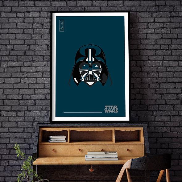 Darth Vader Azul