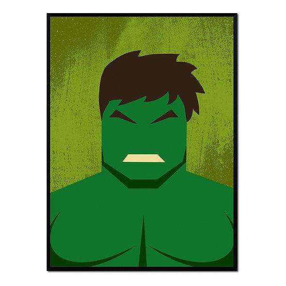 Retrato Hulk