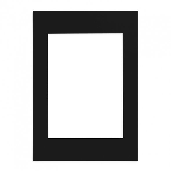 Passepartout Negro 80x100