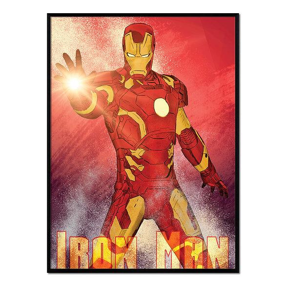 Luz Iron Man