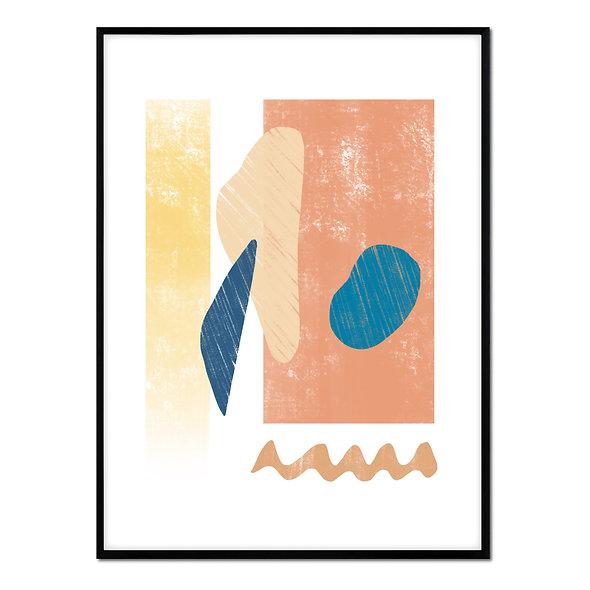 Formas Abstractas Cálidas