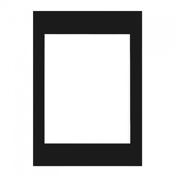 Passepartout Negro 50x70