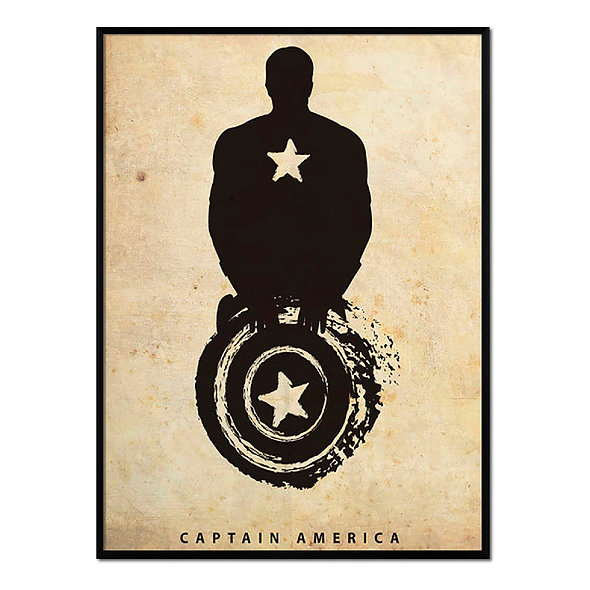 Silueta Capitán América