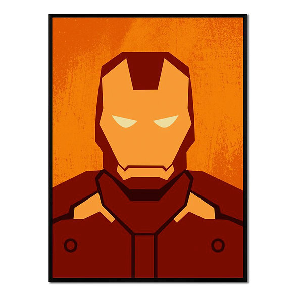 Retrato Iron Man