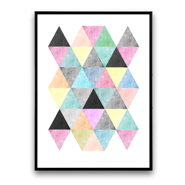 Triángulos de Colores