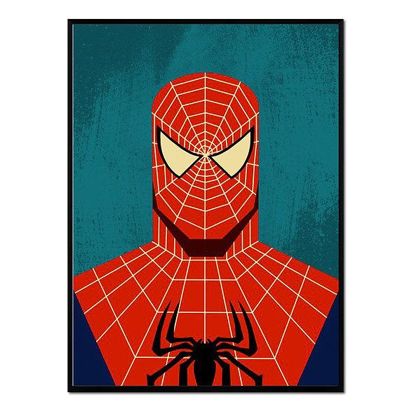 Retrato de Spiderman