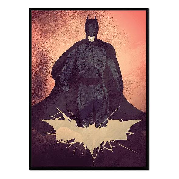 Batman Fondo Anaranjado