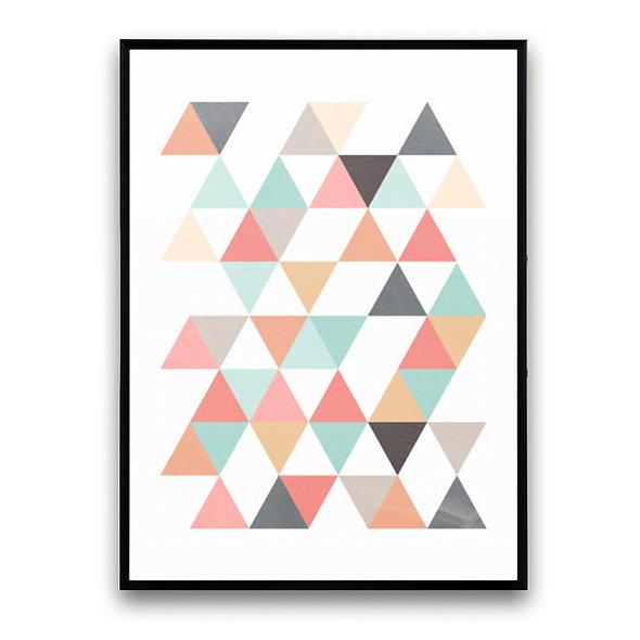 Triángulos Multicolor