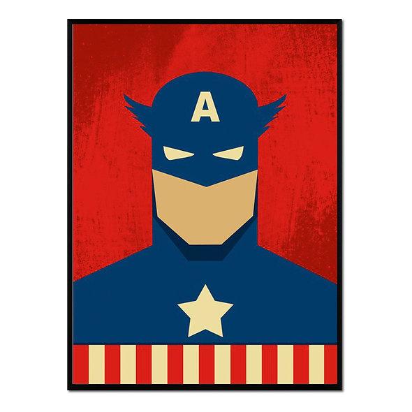 Retrato Capitán América