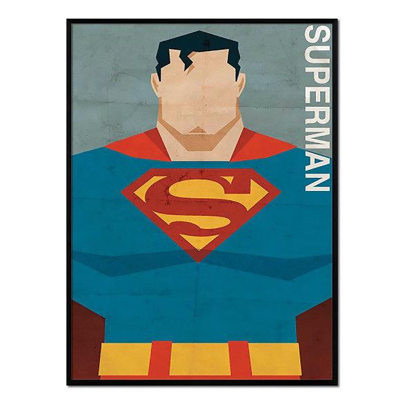 Retrato Superman