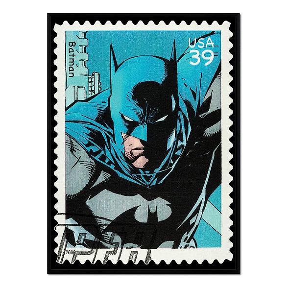Sello de Batman Azul