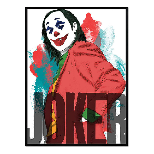 Joker Rojo y Azul