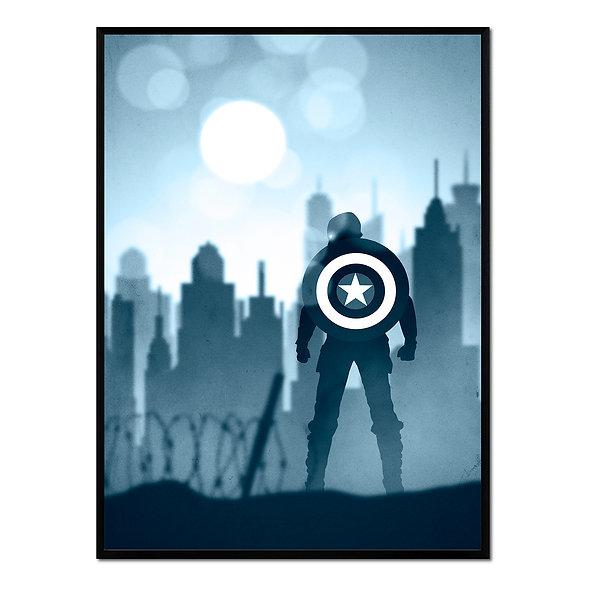 Capitán América Azul