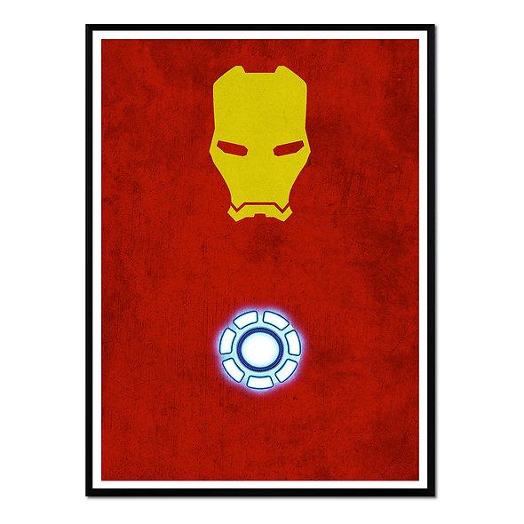 Iron Man Amarillo y Rojo