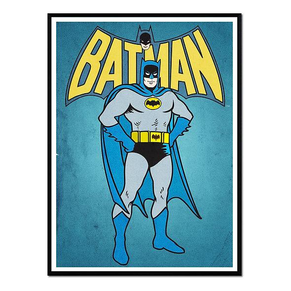 Batman Azul y Amarillo