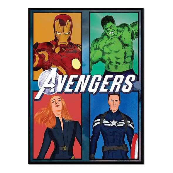 Avengers Colorido