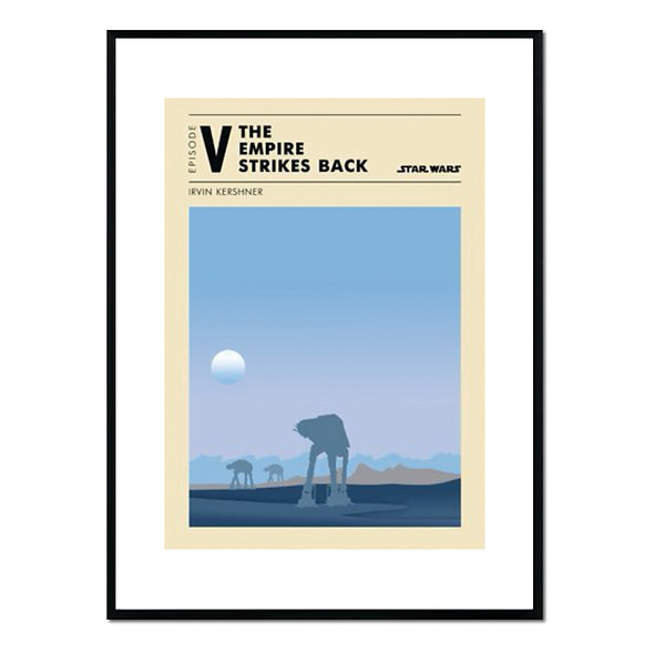 Cuadro Ilustración The Empire Strikes Back