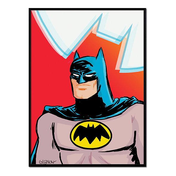 Batman Fondo Rojo
