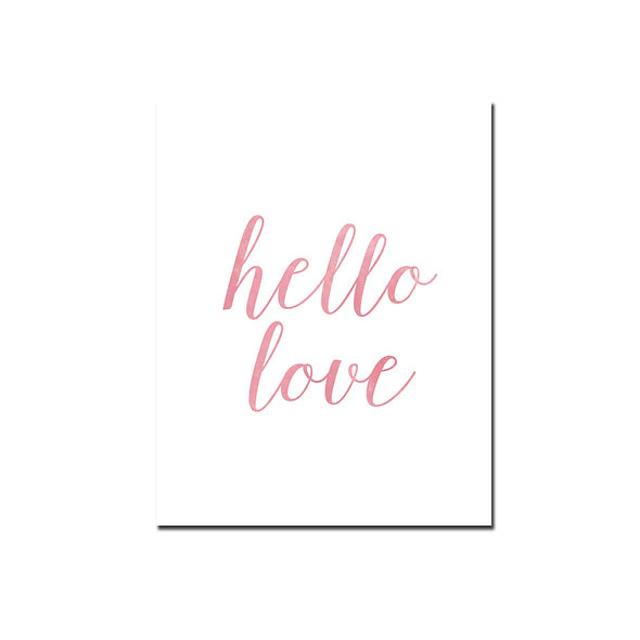Hello Love Rosa