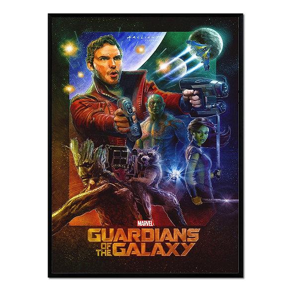 Cartel Guardianes de la Galaxia