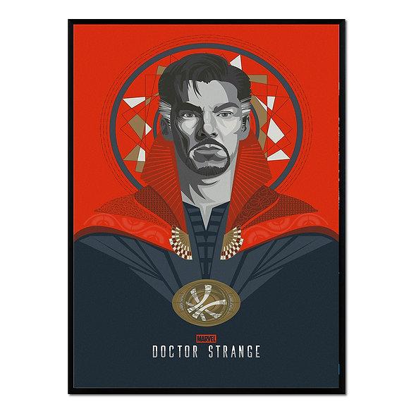 Doctor Strange Rojo y Negro