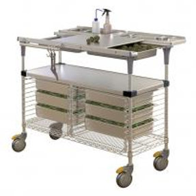 Stainless Steel Cannabis Plant Trimming Rolling Table Worldwide