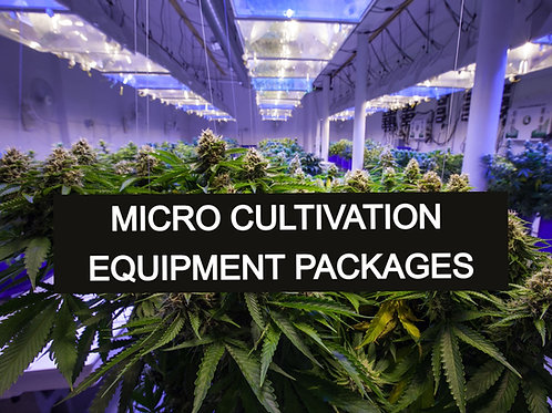 Micro Cultivation Equipment Packages