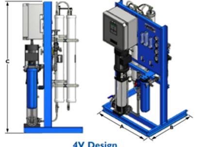 Used Marlo MRO 9000 Reverse Osmosis System for Cannabis & Hemp Growing
