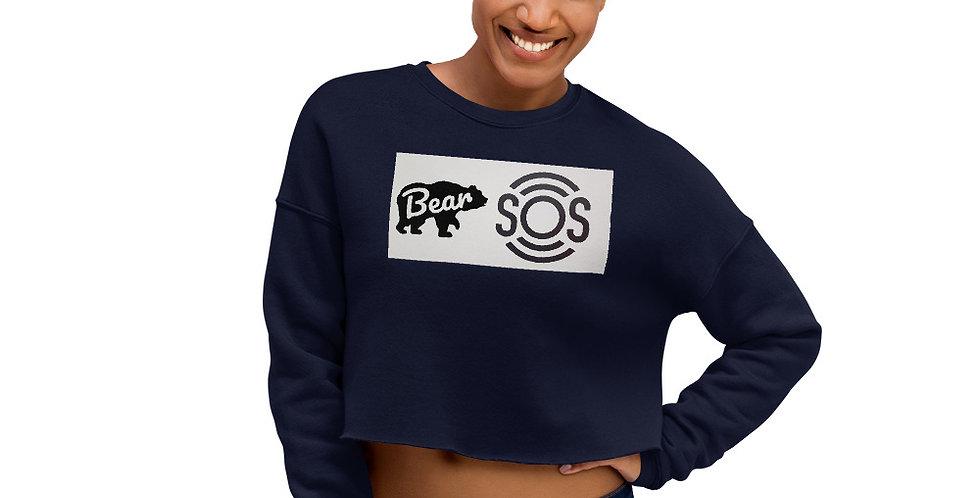 Bear S.O.S Crop Sweatshirt