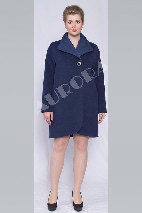 Пальто А-285  (ткань велюр, утепленная)
