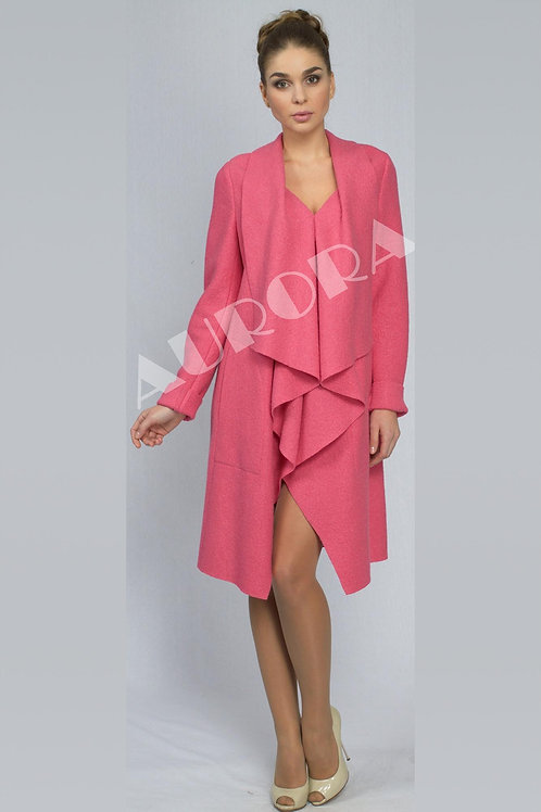 Пальто А-258 (ткань - вареная шерсть)
