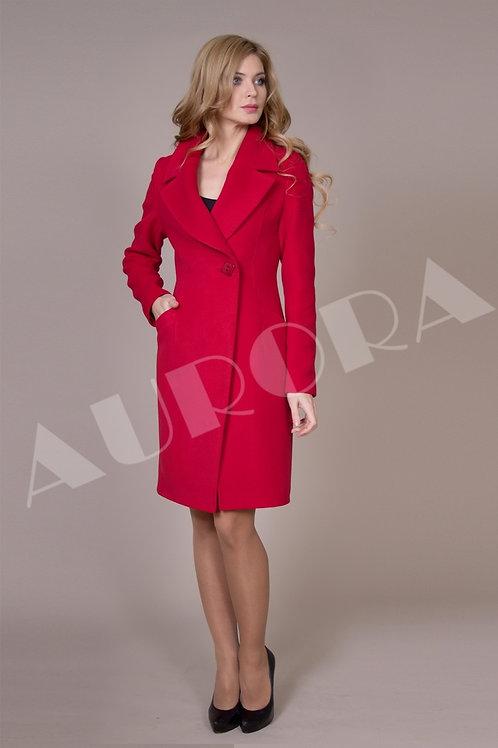 Пальто А-186 (ткань микроворс )