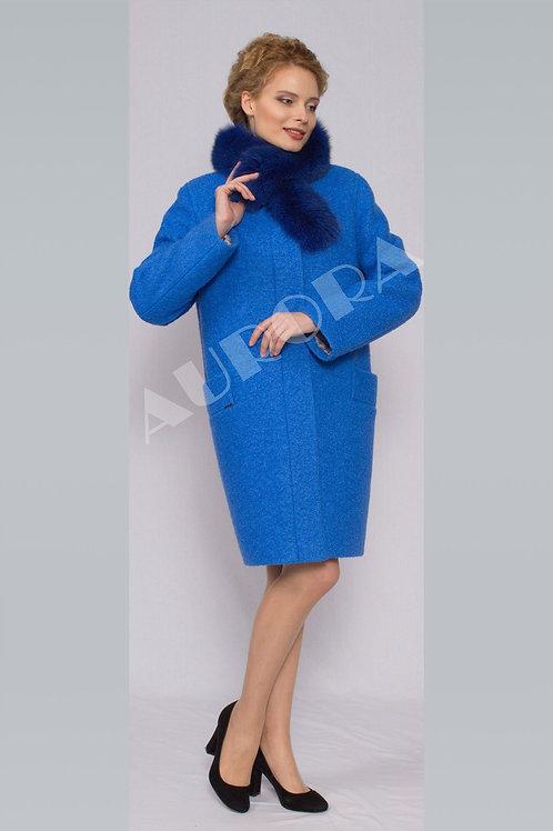 Пальто А-289Z (ткань букле, утепленное)