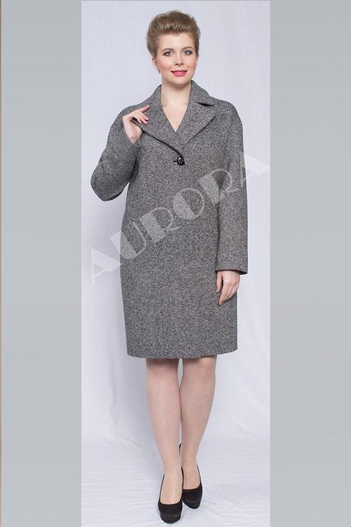 Пальто А-291 (ткань твид)