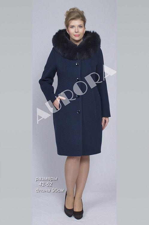 Пальто А-236/1Z (ткань велюр)